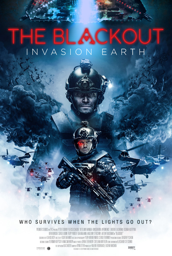 The Blackout: Invasion Earth Poster