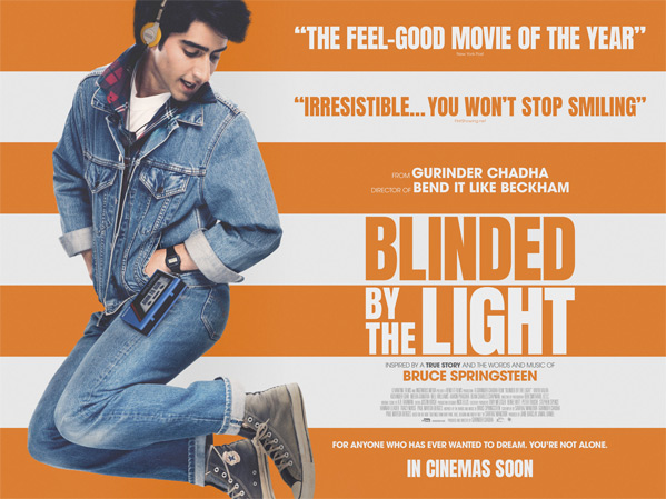 Blinded by the Light Movie Poster UK
