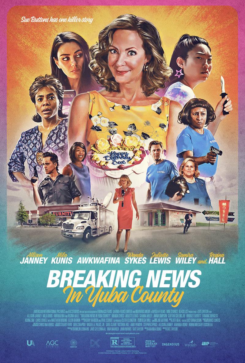 Breaking News in Yuba County Poster