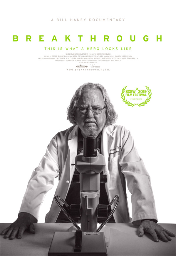 Jim Allison: Breakthrough Poster