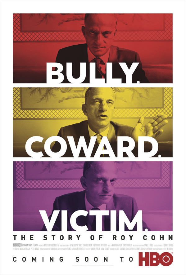 Bully. Coward. Victim: The Story of Roy Cohn Poster