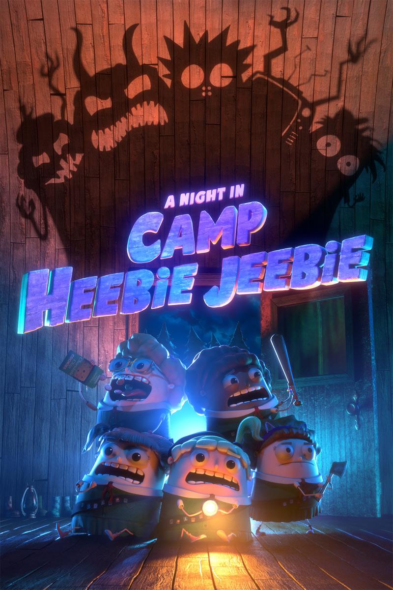 A Night in Camp Heebie Jeebie Poster