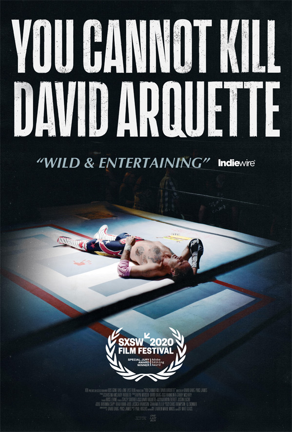 You Cannot Kill David Arquette Poster