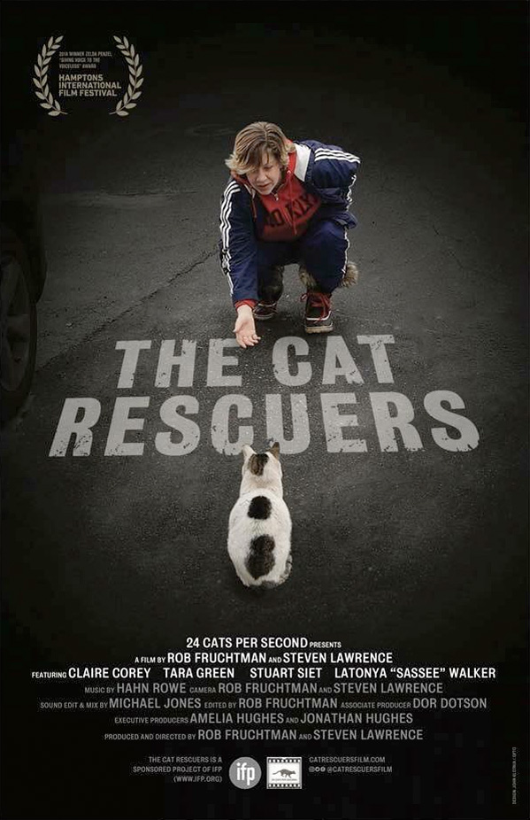 The Cat Rescuers Poster