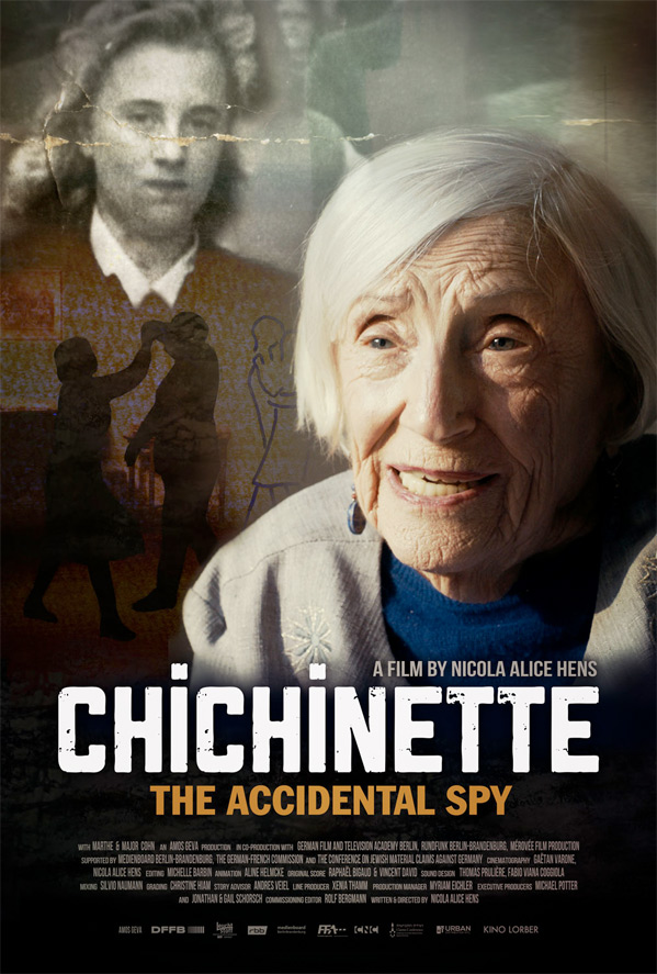 Chichinette: The Accidental Spy Poster