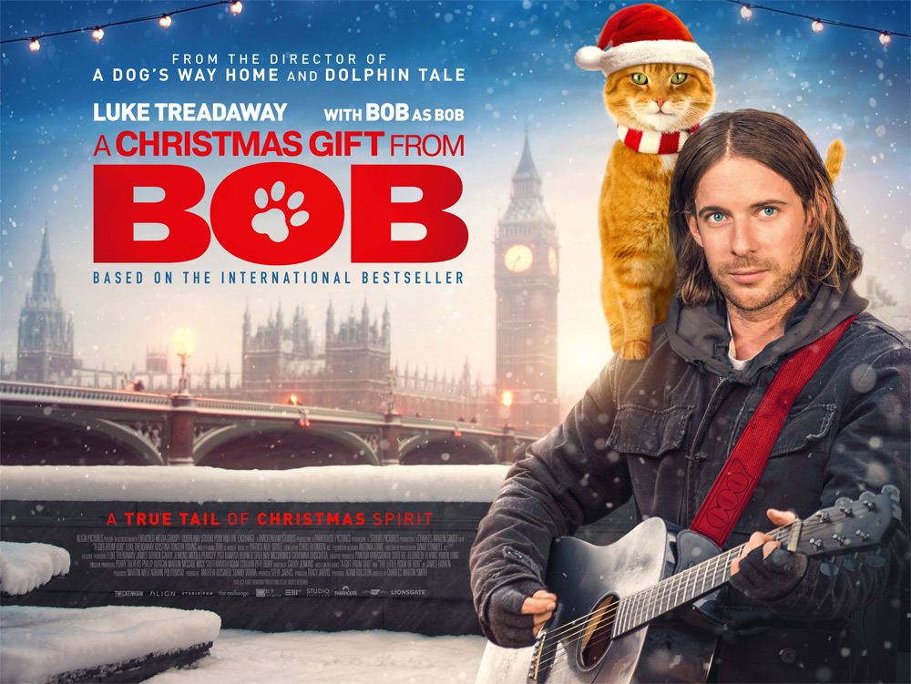 A Christmas Gift From Bob Poster