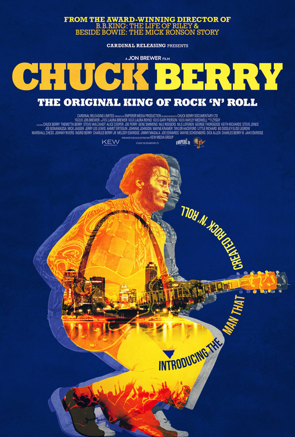 Chuck Berry Documentary Poster