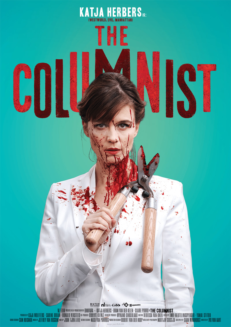 The Columnist Poster