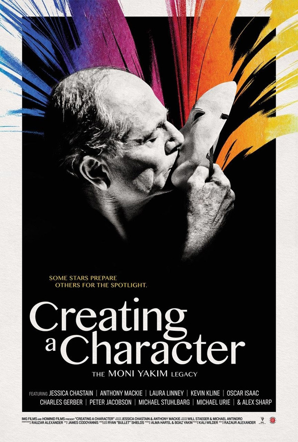 Creating A Character: The Moni Yakim Legacy Poster