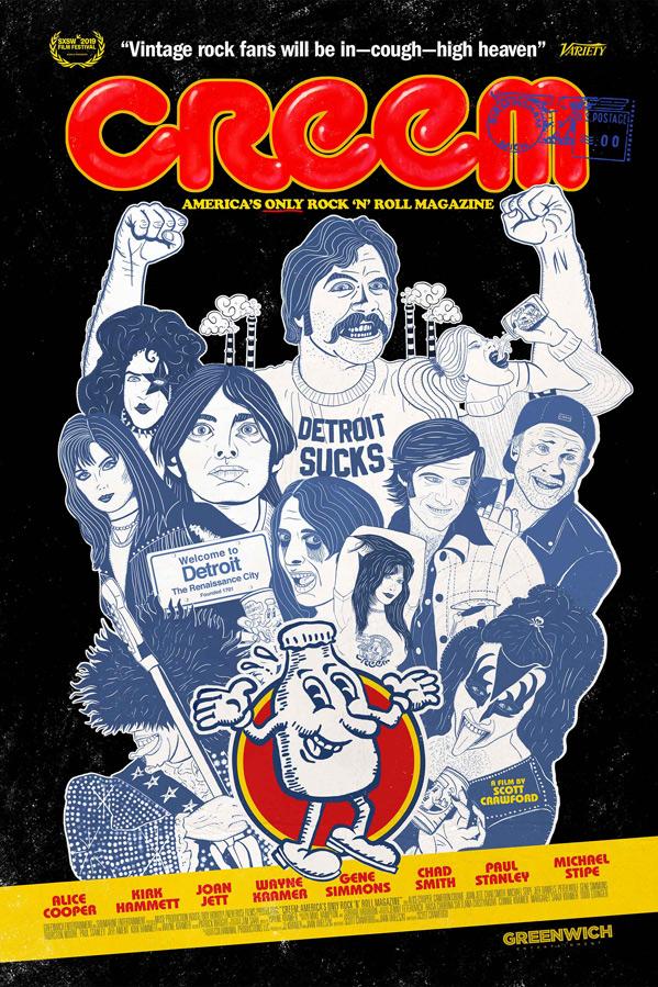 Creem Magazine Documentary Poster