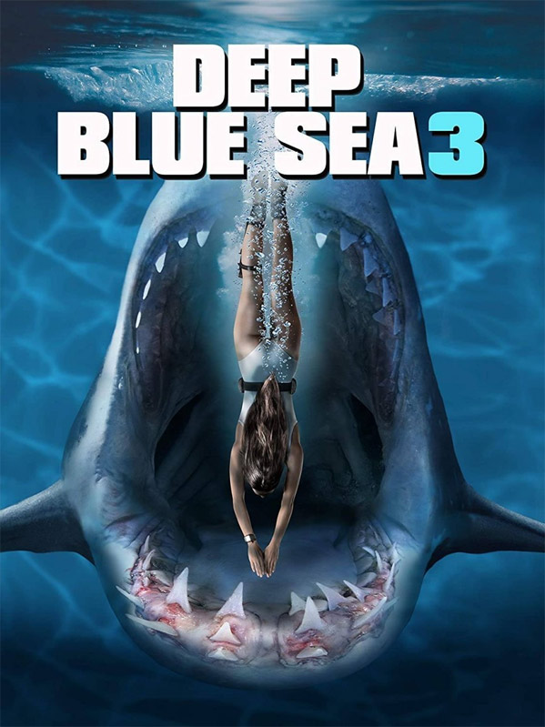 Deep Blue Sea 3 DVD