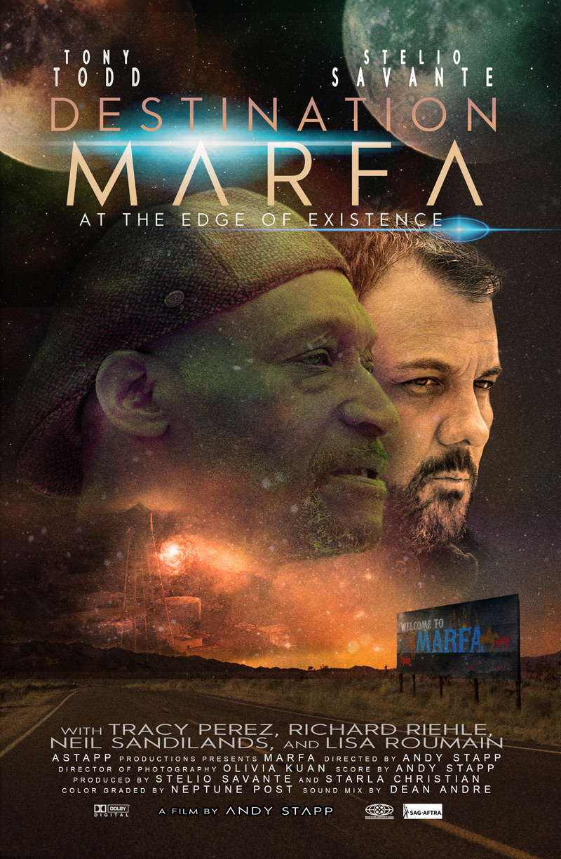 Destination Marfa Poster