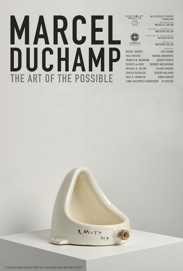 Marcel Duchamp: Art of the Possible Poster