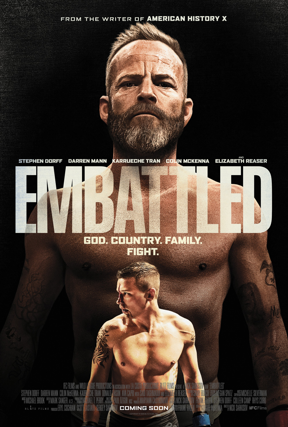 Embattled Poster