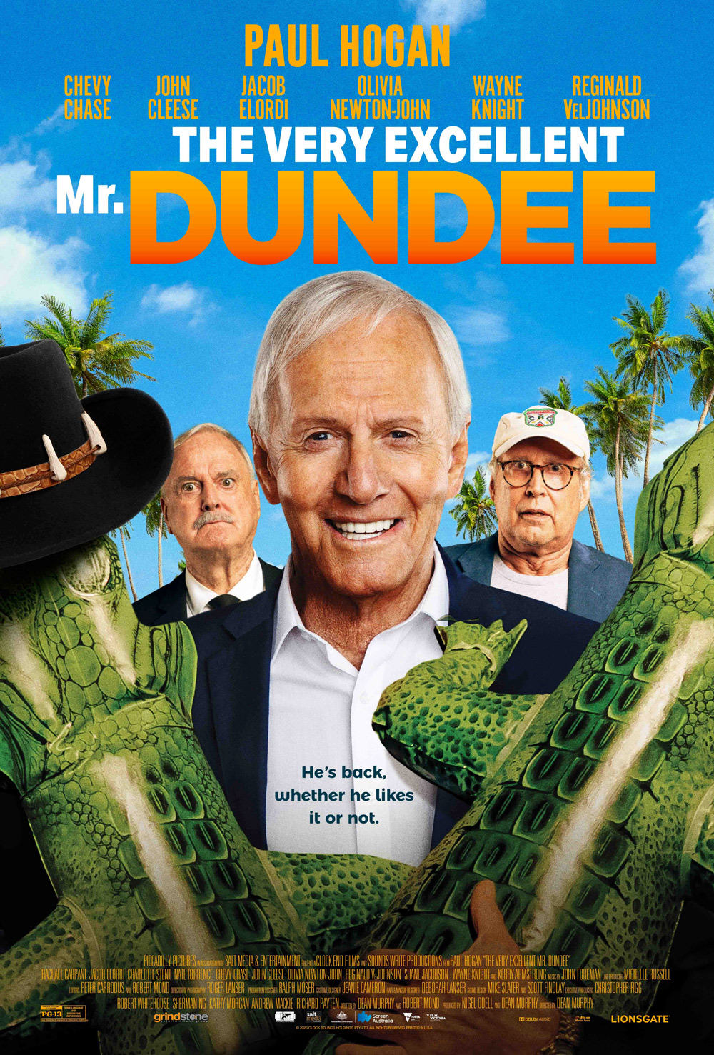 The Very Excellent Mr. Dundee Poster