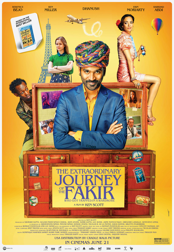 The Extraordinary Journey of the Fakir Poster