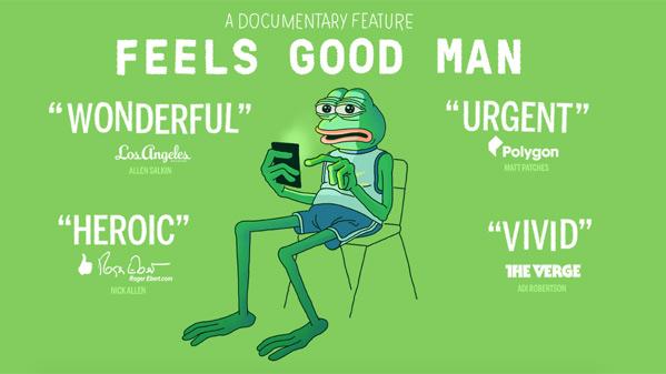 Feels Good Man Doc Poster