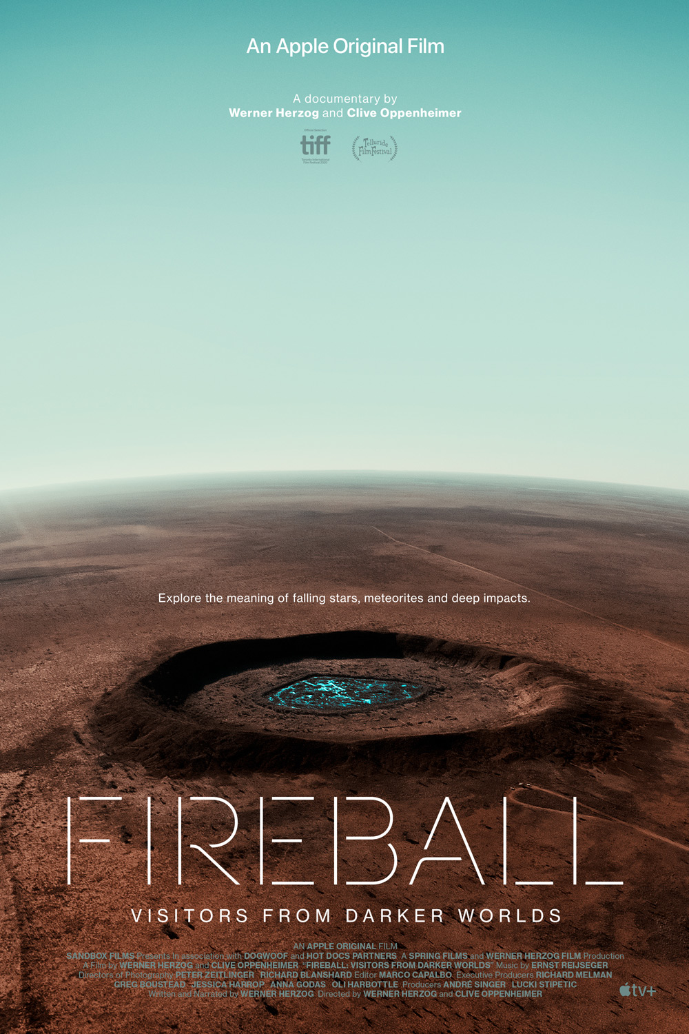 Fireball: Visitors From Darker Worlds Poster
