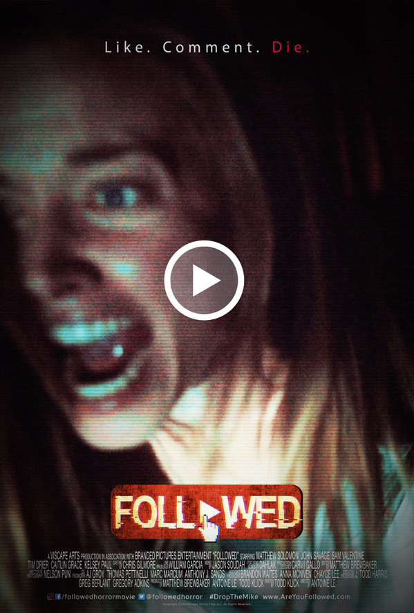 Followed Horror Poster