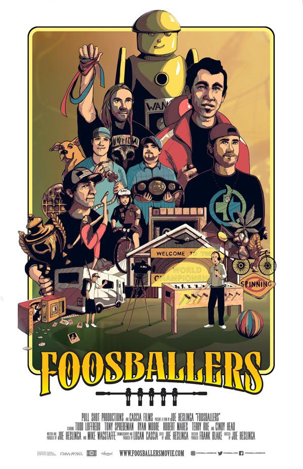 Foosballers Doc Poster