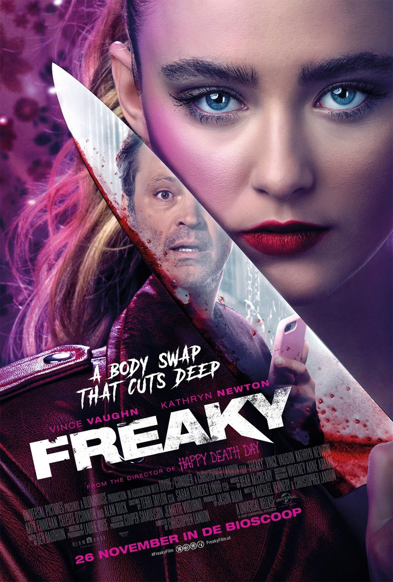 One More Trailer for 'Freaky' Body Swap Slasher with Vince Vaughn |  FirstShowing.net