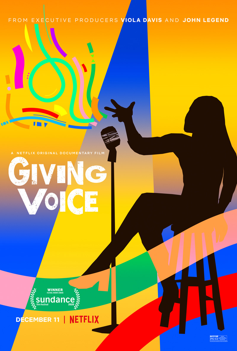 Giving Voice Poster