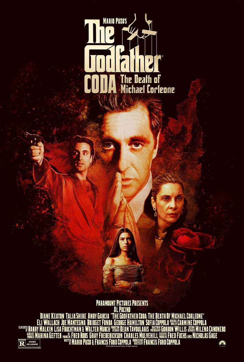 The Godfather Coda: The Death of Michael Corleone' Official Trailer | FirstShowing.net