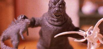 Stop-Motion Godzilla PSA