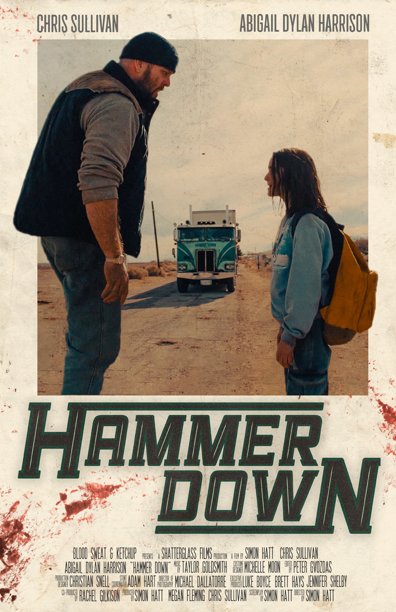 Hammer Down Short Film Poster