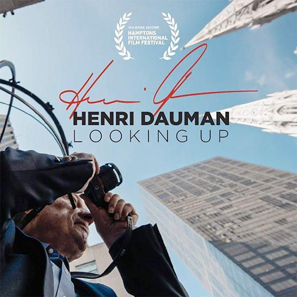 Henri Dauman: Looking Up Poster