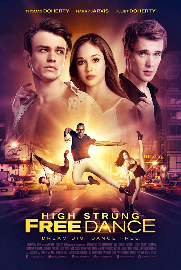 High Strung Free Dance Poster