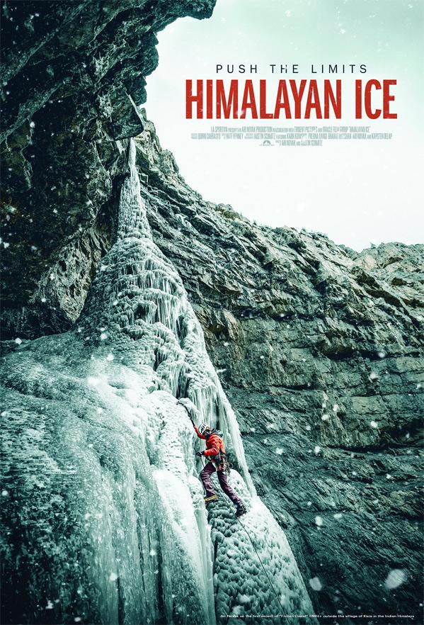 Himalayan Ice Poster