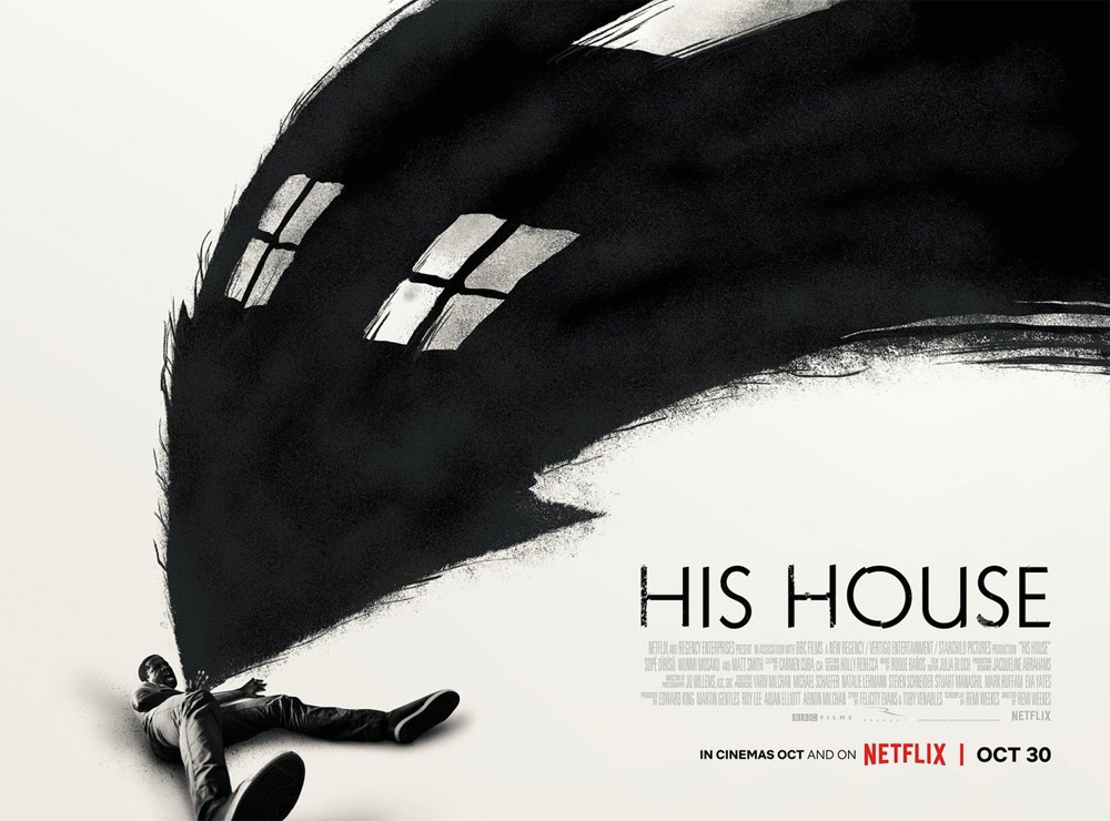 His House UK Poster