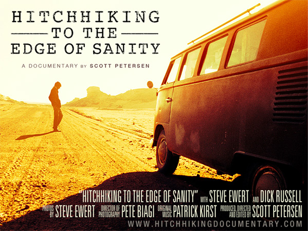 Hitchhiking to the Edge of Sanity Poster