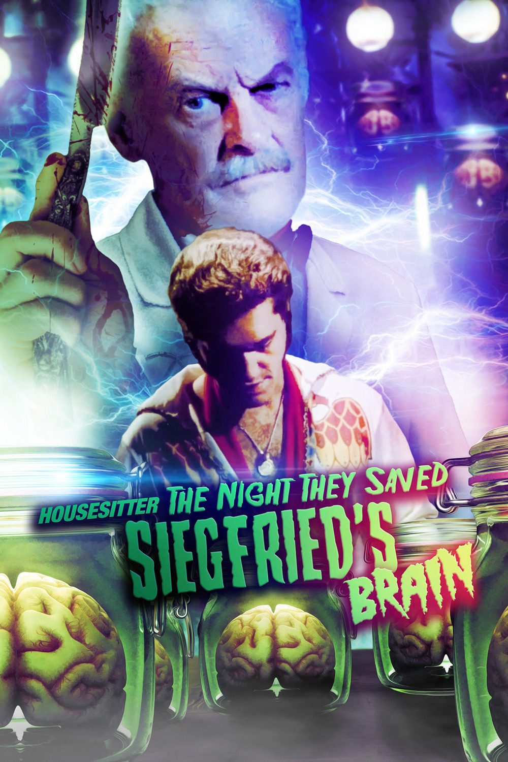 Housesitter: The Night They Saved Siegfried's Brain Poster
