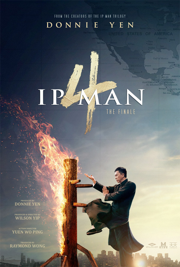 Ip Man 4 US Poster