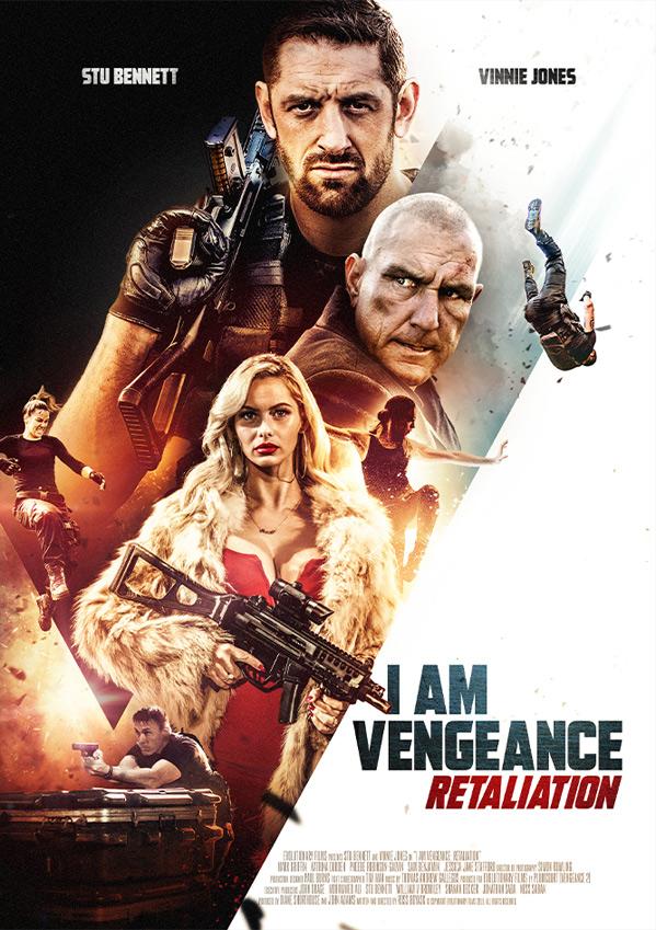 I Am Vengeance: Retaliation Poster