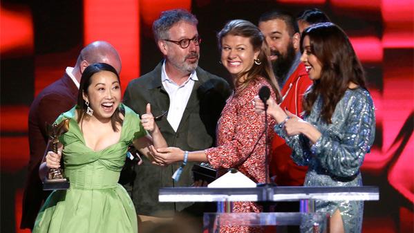 Best Feature Winner The Farewell - Director Lulu Wang