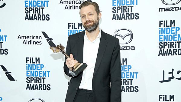 Best Cinematography Winner Jarin Blaschke
