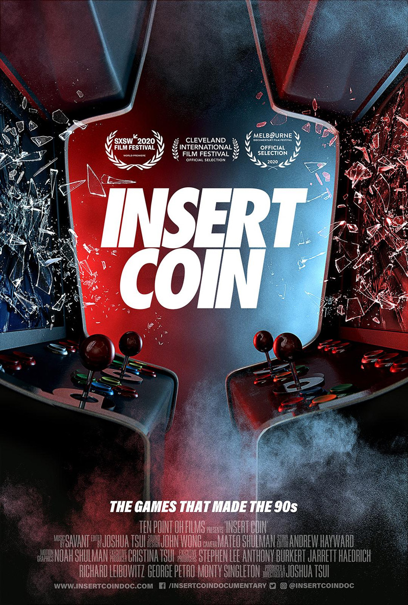 Insert Coin Doc Poster