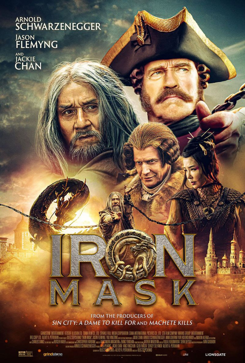 Yet Another Trailer for Fantasy Action Movie 'Iron Mask' with Arnold