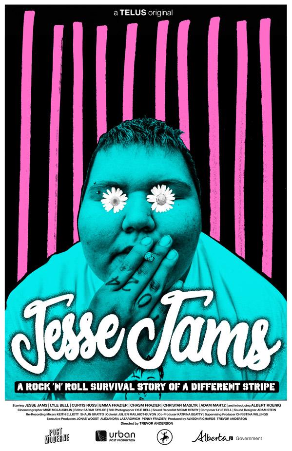 Jesse Jams Poster