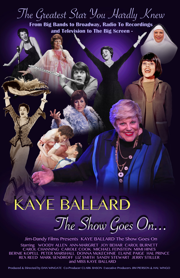 Kaye Ballard: The Show Goes On! Poster