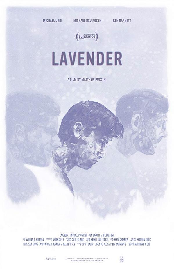 Lavender Short Poster