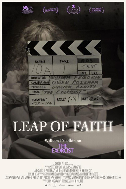 Póster Salto de fe