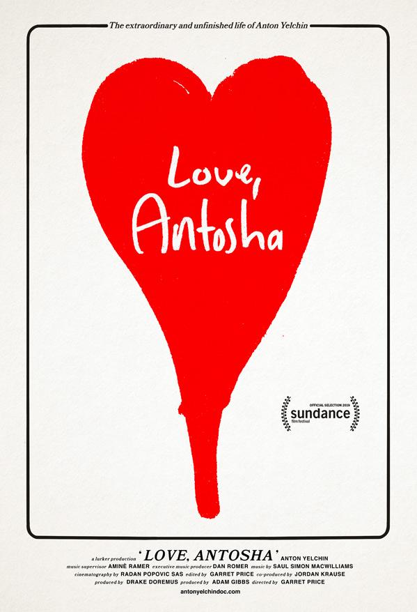 Love, Antosha Doc Poster