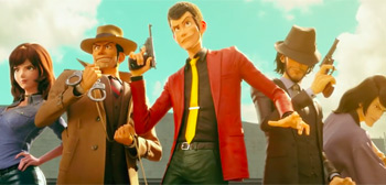Lupin III: The First Trailer