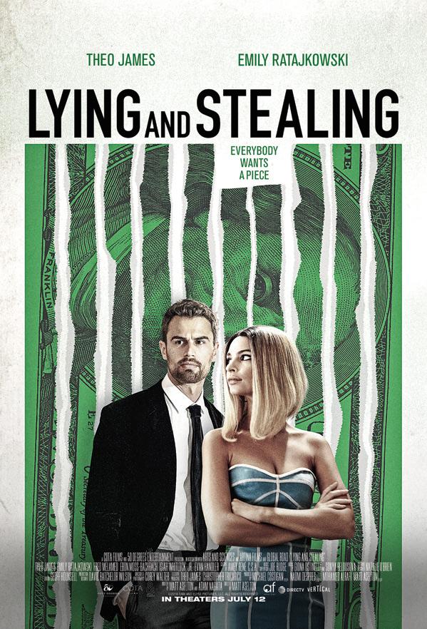 Lying & Stealing Poster