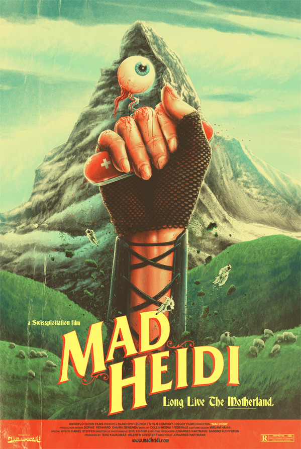 Mad Heidi Film Poster