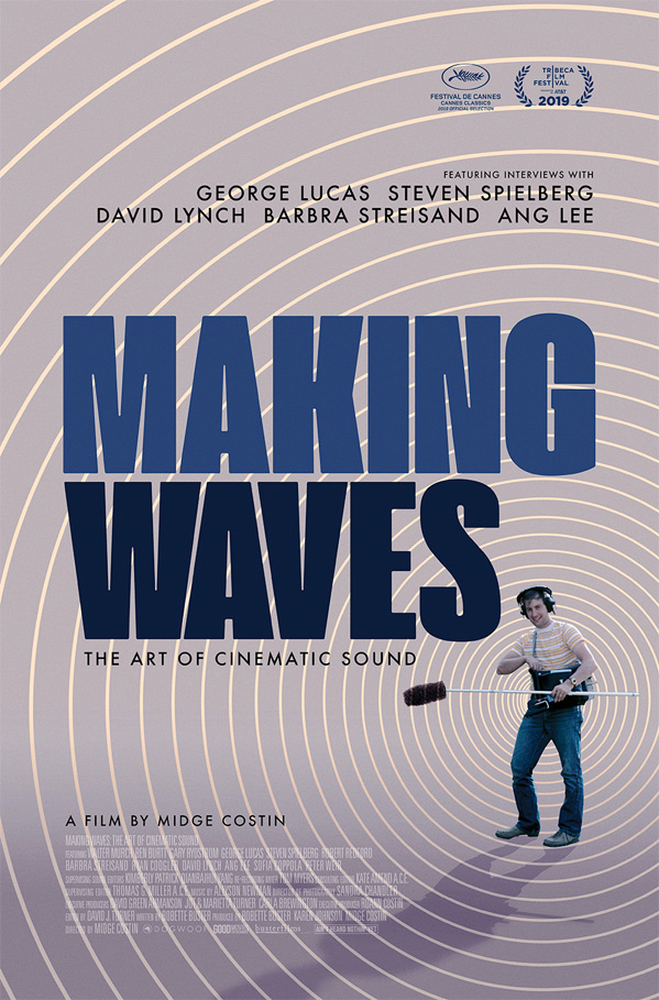 Making Waves: The Art of Cinematic Sound Poster